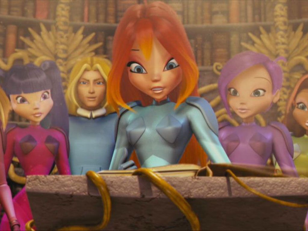 Light Reading|After finding the book of fate with the help the Winx Club, Bloom caught a glimpse of her family's destiny!
