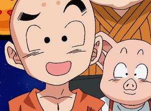 Krillin picture, Dragon Ball Z Kai