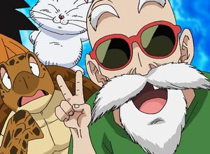 Master Roshi picture, Dragon Ball Z Kai