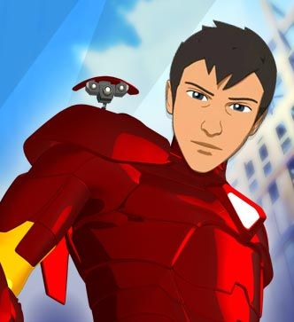 Tony Stark from Iron Man: Armored Adventures | Cartoon | Nicktoons.com