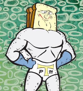 Powdered Toast Man Picture - The Ren & Stimpy Show