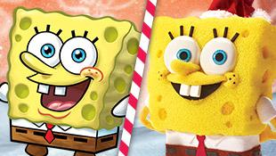 SPONGEBOB STARS TRANSFORMED